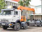 Kamaz xe tải cầu 6540 long II (8x4)