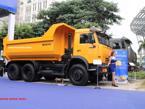 Kamaz Xe ben  Kamaz 15 tấn 65115 (Euro3) Ga cơ thùng vuông