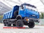 Kamaz xe ben kamaz 65111 (6x6) 3 cầu chuyên dụng